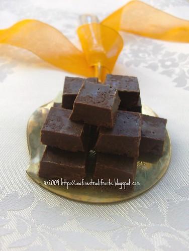 Mou al cioccolato e arancia