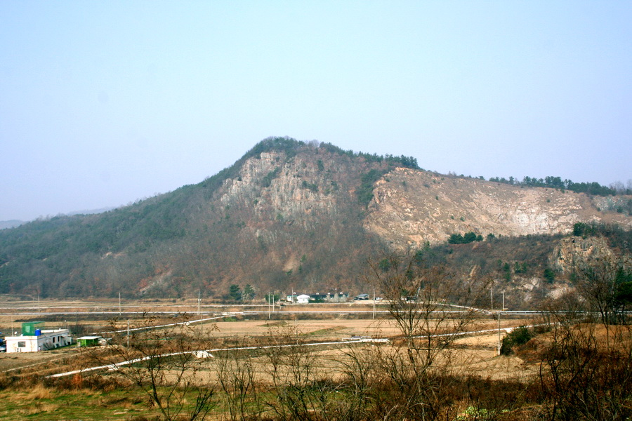 View from road