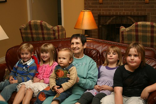 Granny P and kids