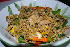 Turkey Fried Rice (madzak) Tags: asian leftovers stirfry turkeyasianleftoversstirfryturkey