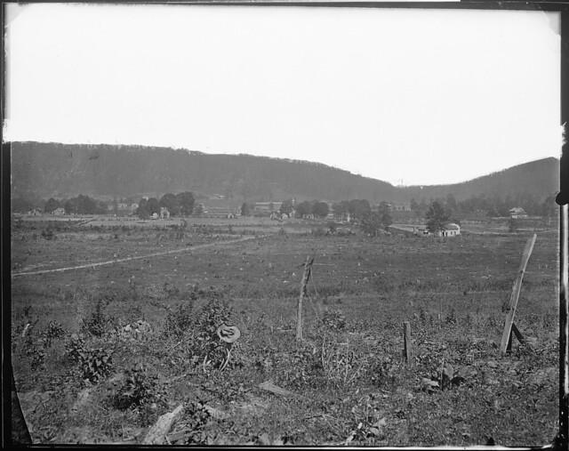View of Ringgold  Ga 1864 by The US National Archives