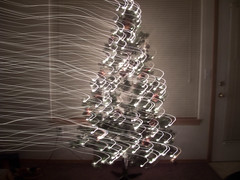 Camera Toss - Windy Christmas (Bora Bora Lover) Tags: christmas camera tree lights toss cameratoss intentionalcameramovement
