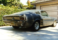 1967 Mustang Project Fastback