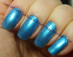 2009 December 001 (ballekarina) Tags: blue nailpolish opi piggypolish