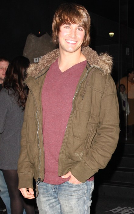 "#4149931 Celebrities dine at Katsuya in Hollywood, CA on December 5, 2009. Pictured: James Marlowe of Nickelodeon's ""Big Time Crush"". Fame Pictures, Inc - Santa Monica, CA, USA - +1 (310) 395-0500"