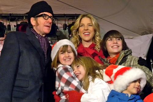 Diana Krall, Elvis Costello & Kids representing VGH