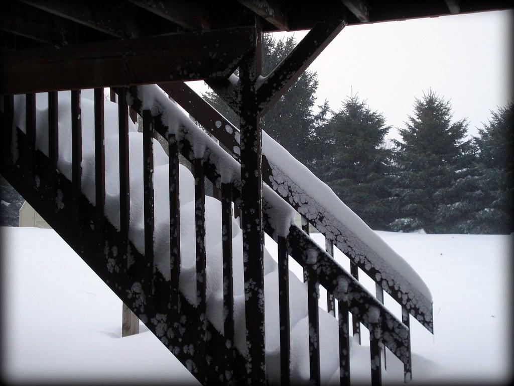 snowstorm - steps