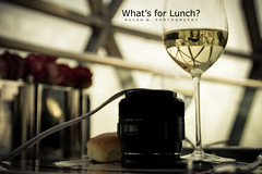 What's For Lunch? (Rayan M.) Tags: food bread restaurant view eating quality sony lifestyle kingdom dining diet riyadh saudiarabia whitewine grape premium chardonnay theglobe ksa excellence whatsforlunch alfaisaliah rayanmphotography