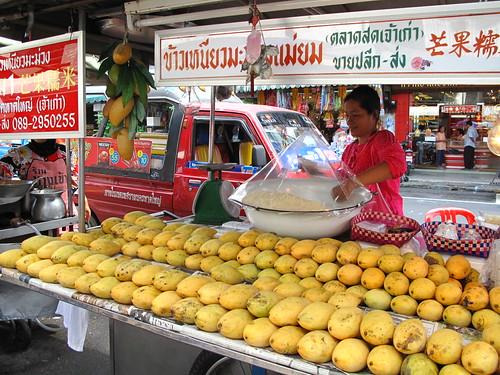 IMG_5793 Mango Sticky Rice , Hatyai KimYong Market