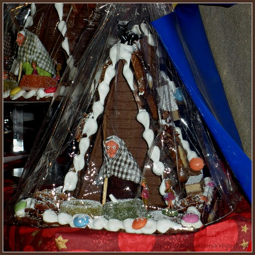 Witch Gingerbread House