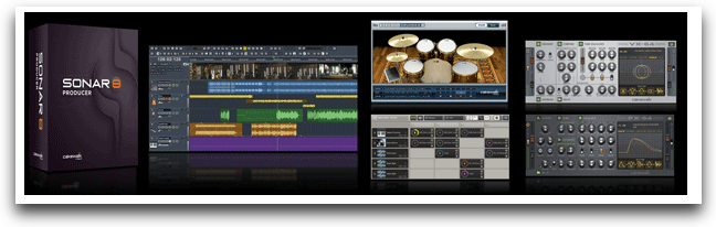 Cakewalk SONAR 8.5 Producer and SONAR 8.5 Studio