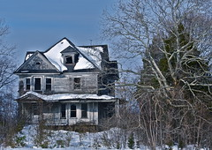 Seen Better Days (Paul Rudderow- Jersey Shooter) Tags: old winter house snow abandone
