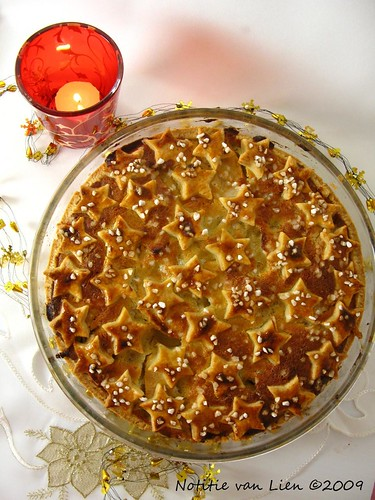 Apple-Christmas pie
