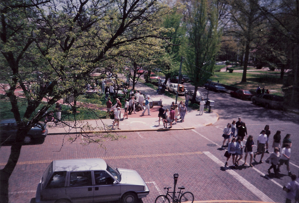 College and Union in Athens, OH 1995.