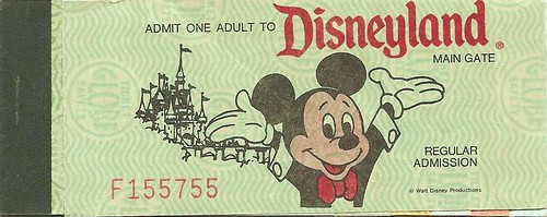 "dating disneyland ticket books To save money, a guest could buy a book of coupons, sold at ticket booths throughout the photograph of a ""disneyland ticket book"" was originally sold at."