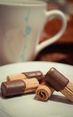 Day 031 | 365 Morning Coffee ! (Nas t) Tags: morning food macro coffee sweet good chocolate tamron 90mm d60 90mmtamron