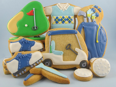 new golf cookies