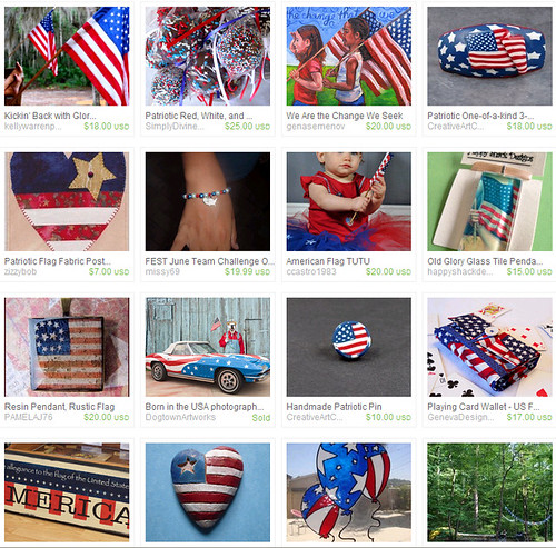6-14-11 Flag Day FEST Etsy Team Treasury