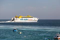 Fred Olsen Express (LHRlocal) Tags: cat fuerteventura lanzarote catamaran express canaries canaryislands playablanca fredolsen fredolsenexpress canon6d philbroad