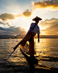 The Mystical Fishermen of Inle (Inle Lake, Myanmar 2013) (Alex Stoen) Tags: 5dmk2 alexstoen alexstoenphotography bagan burma canon canoneos5dmarkii geotagged myanmar natgeo nationalgeographicexpeditions portrait travel vacation