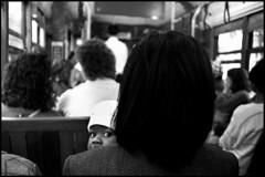 baby face (Matthew Vinci) Tags: city people blackandwhite film kids streetphotography matthewvinci