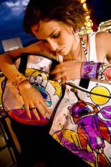 Robot con sentimientos (lascosasdehule) Tags: de robot venezuela cosas caracas and bolsos carteras nicol hule brazaletes zarcillos acaros engberts