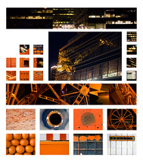 Morfologia I, Longinotti - UBA (Gaston Garcia Photography) Tags: red orange color colour detail reflection college yellow circle photography design photo trabajo rojo graphic amarillo shape visual diseo naranja ensayo grafico forma uba morfo scuare longinotti longi morfologia