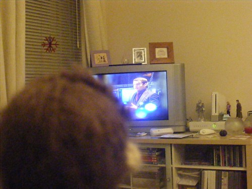 Tiny Ten watching Torchwood