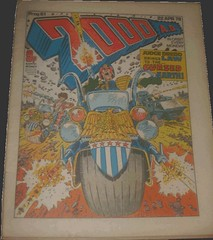 2000AD Prog 61: Judge Dredd Brings Law To The Cursed Earth! Art by Mike McMahon (flickr)