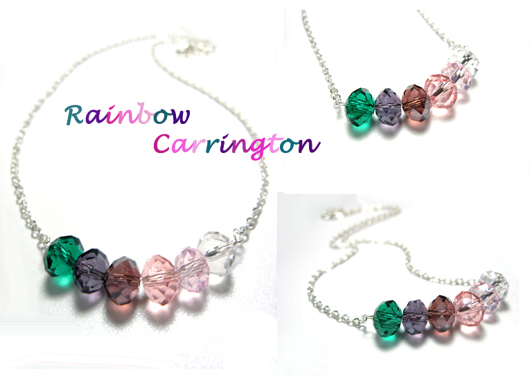 rainbow carrington necklace