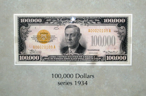 A 100000 Bill The Story Behind LargeDenomination