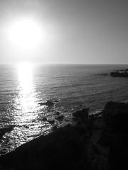En Puesta (Irene _guallas) Tags: water blackwhite agua kodak playas easyshare v803 kodakeasysharev803 ireneguallas