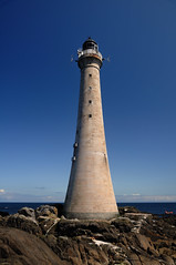 Skerryvore Lighthouse (located in the Atlantic Ocean, 11 miles SW of Tiree), Scotland (iancowe) Tags: ocean lighthouse tower rock alan scotland board scottish atlantic stevenson northern tiree mywinners skerryvore theunforgettablepictures wbnawgbsct