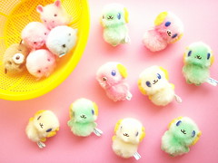 Kawaii Cute Pom Pom Mascot Tiny Dolls Craft Ideas Supplies Japan (Kawaii Japan) Tags: pink cute green smile smiling animals yellow japan asian toy happy japanese diy pom doll pretty little small fluffy craft mini goods plush mascot collection plushies commercial tiny stuff kawaii collectible supplies crafting pompom kawaiishopping kawaiijapan kawaiishop kawaiishopjapan