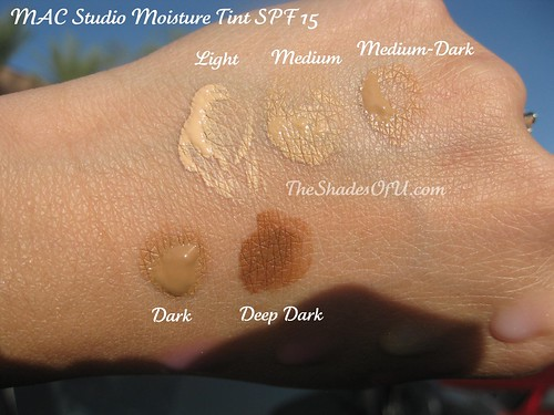 MAC Studio Moisturetint SPF 15 Look and Review - The Shades Of U