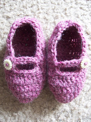 baby rosey slippers