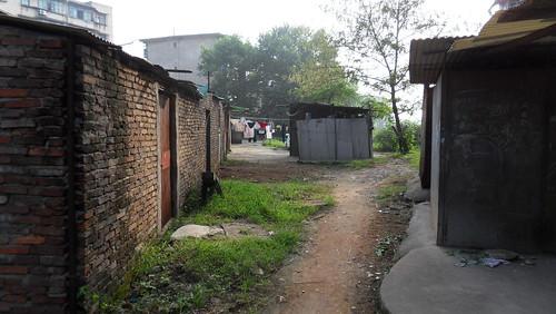 那时的家背后