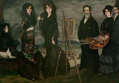 My Uncle Daniel and his Family 1910 Ignacio Zuloaga y Zabaleta, Spanish, 1870–1945. MFA Boston (renzodionigi) Tags: dog chien cane perro hund