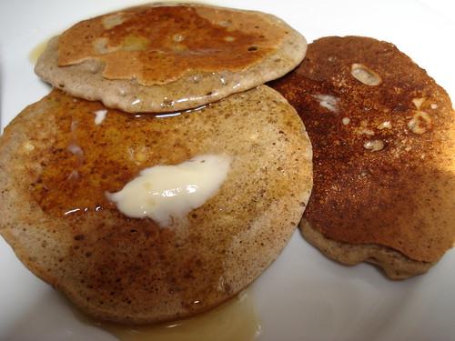 Gluten-free vegan buckwheat pancakes