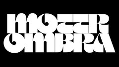 Motter Ombra by Othmar Motter in 1976 (daylight444) Tags: fonts typeface