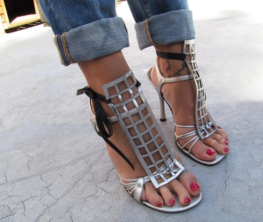 diy-ysl-silver-cage-sandals