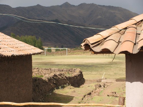 andean village football pitch