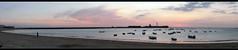 Panormica - Caleta (Canoso.) Tags: sea panorama mer boat mar meer barca mare barco panoramic cadiz bateau panoramique bote panormica caleta panormica fiatlux  ruderboot canoso  panoramisch