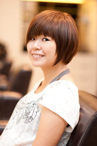 【女生髮型】清爽短髮設計