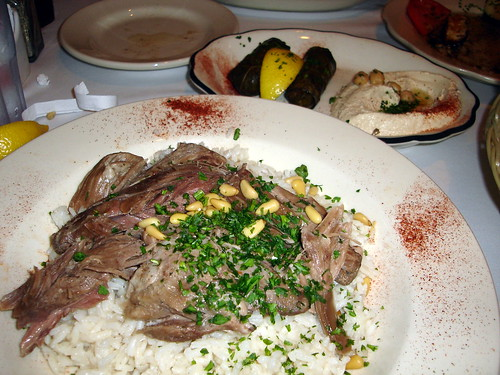 Lamb Shank Plate