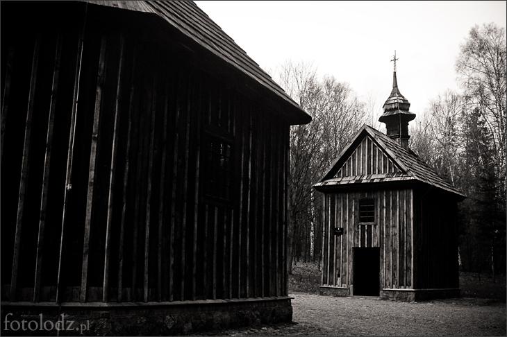 Kapliczki w Łagiewnikach w Łodzi