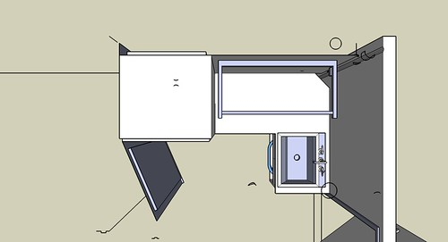 Plan View of Laundry Room