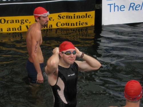 Giles @ swim start