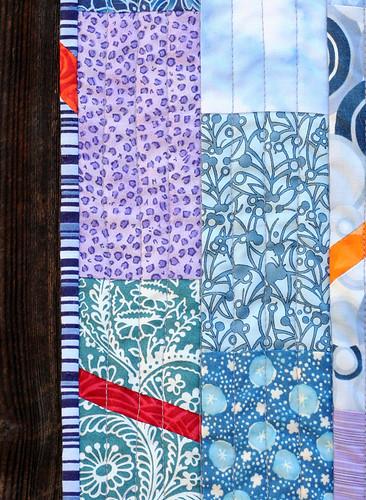 Kaesea's quilt: Detail