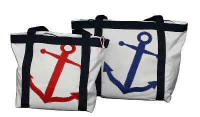 Anchor Totes by Re-Sails